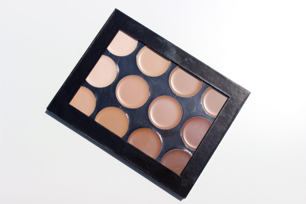 mehron celebre pro hd cream foundation contour highlight palette review swatches images 02
