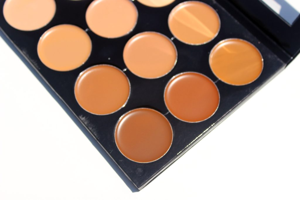 mehron celebre pro hd cream foundation contour highlight palette review swatches images 03