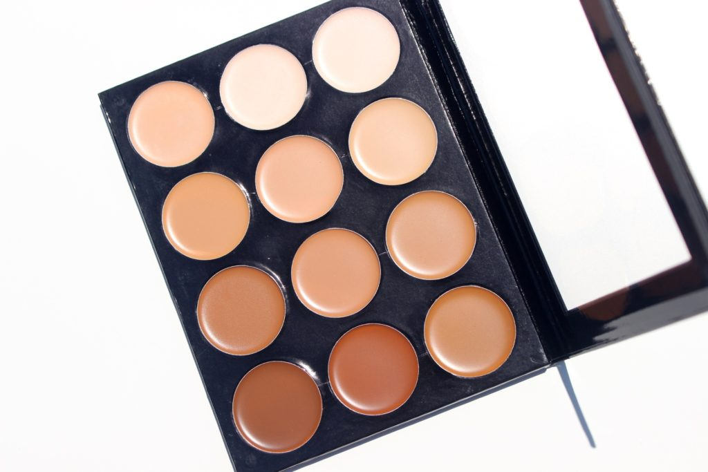 mehron celebre pro hd cream foundation contour highlight palette review swatches images 06