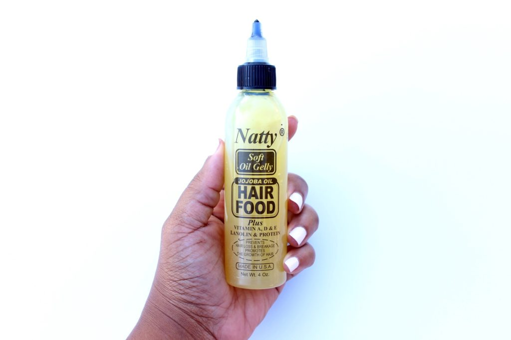 natty soft oil gelly hair food review 6