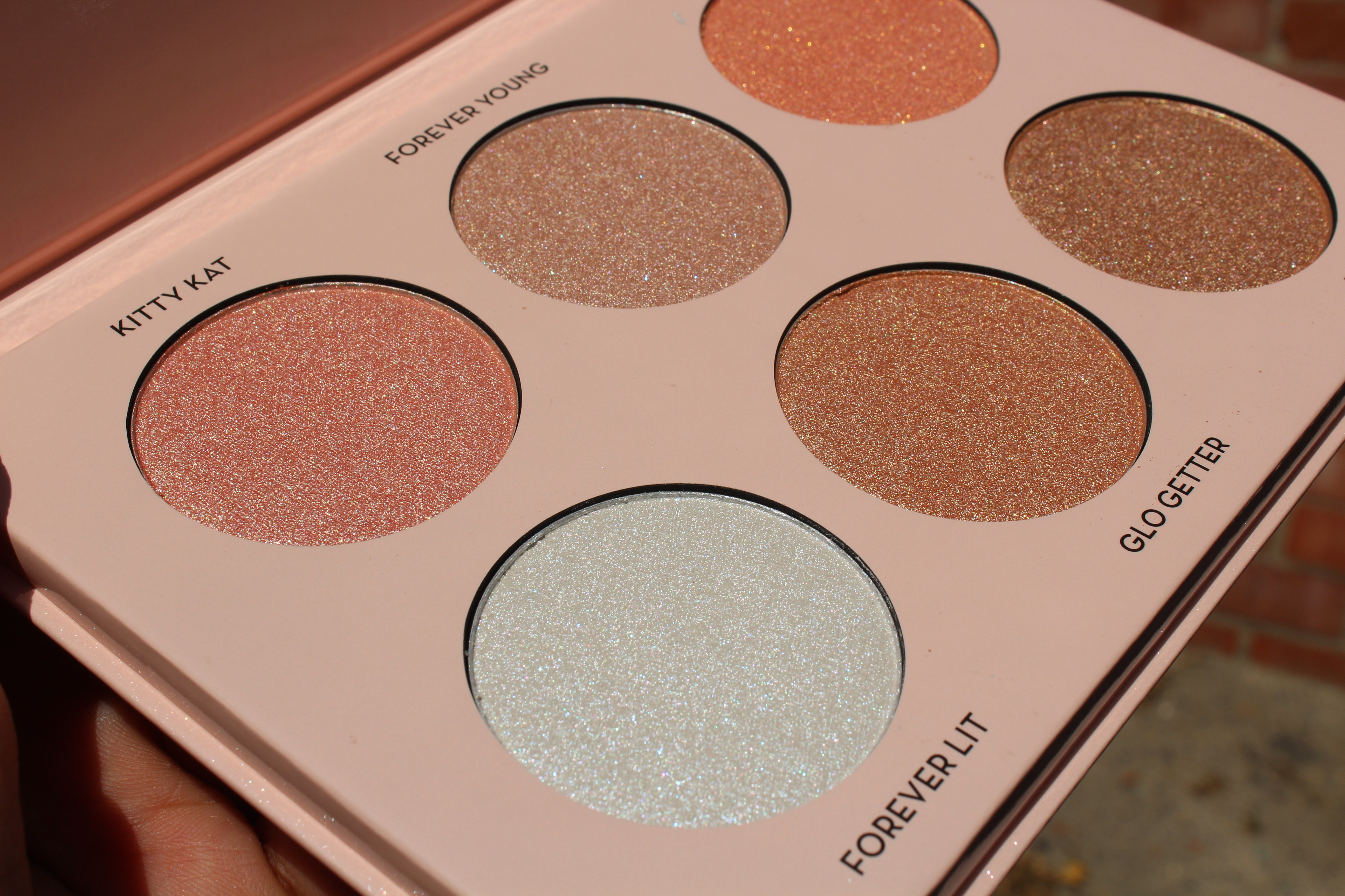 Anastasia Beverly Hills Glow Kit Nicoleglow Swatches And Review