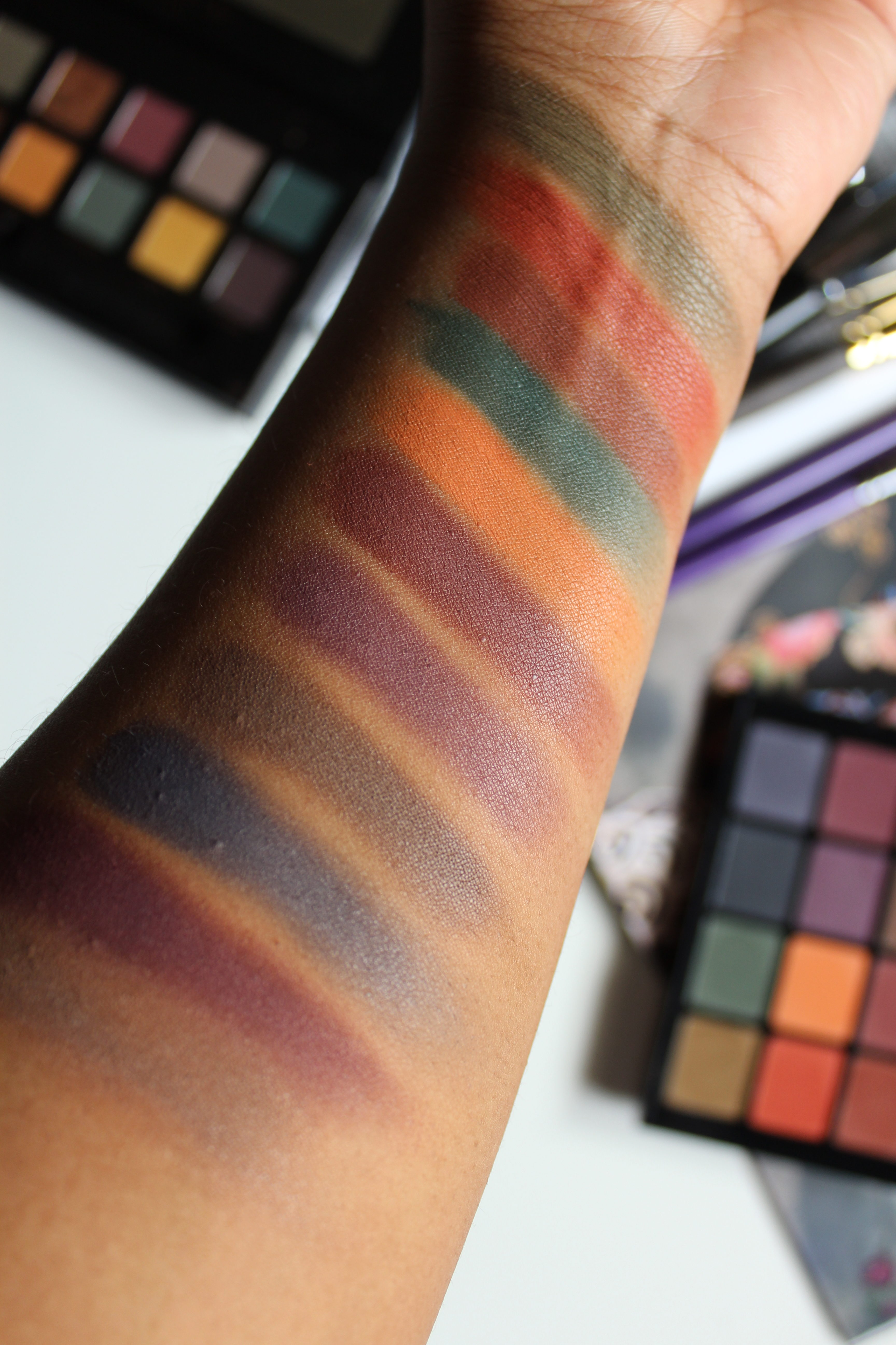 Matte Brown Eyeshadow Palette: Viseart 04 Dark Mattes Eyeshadow Palette Swatches + Quick